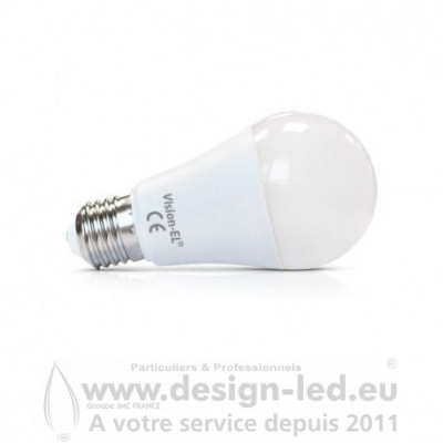 E27 LED 10W 4000K Dimmable 880LM VISION EL 73940