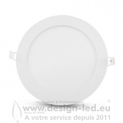 Downlight LED BLANC Ø170 12W 4000K 850LM