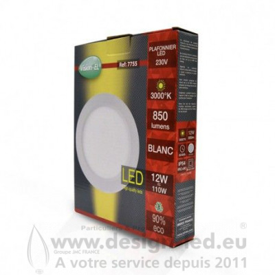 Downlight led Ø170 12w 4000k vision-el 77551 13,80 €