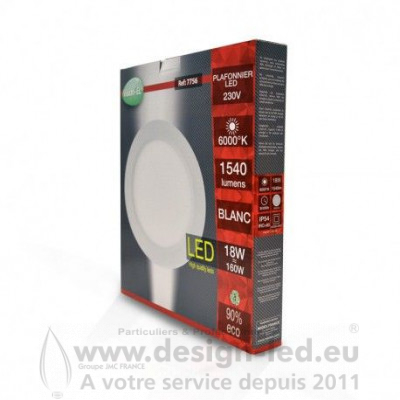 Downlight led Ø225 18w 6000k vision-el 7756 15,00 €