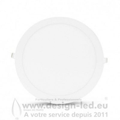 Downlight LED BLANC Ø300 18W 3000K 1500LM