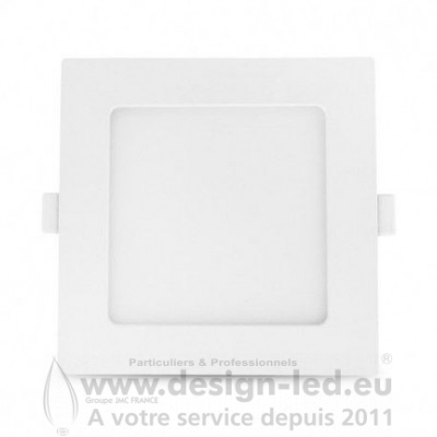 Downlight LED carre Blanc 147 x 147 10W 4000K 770LM