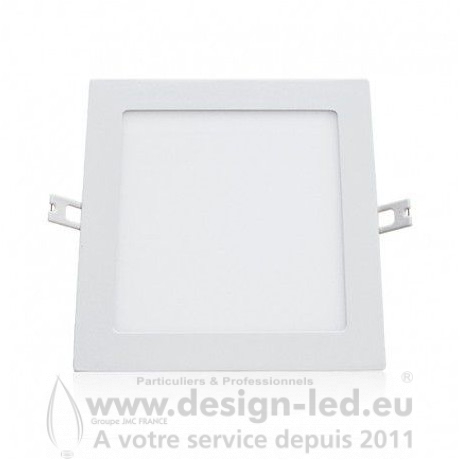 Downlight LED carre Blanc 200 x 200 15W 3000K 1350LM