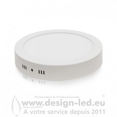 Plafonnier LED Saillie Rond Ø220 mm 18W 4000K 1440LM