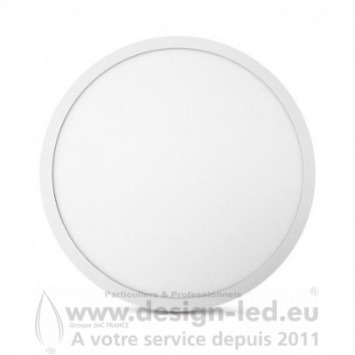 Plafonnier LED Saillie Rond Ø500 mm 36W 3000K 3480LM VISION EL 77741