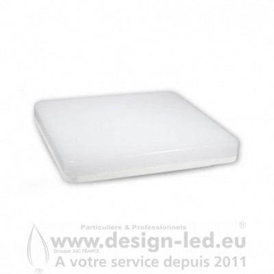 Plafonnier LED Saillie 280 X 280 mm 18W 4000K 1650LM CLASSE II