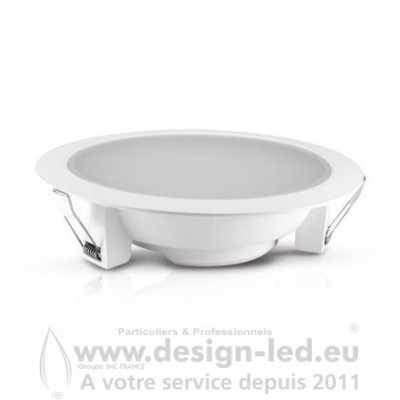 Downlight Spot LED Blanc Ø230 28W 3000K 2600LM