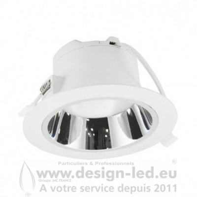 Downlight led Basse Luminance Ø230 25w 4000k vision-el 76548 23,70 €