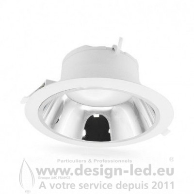 Downlight Spot LED Basse Luminance Ø230 25W 3000K 2050LM Alim Déportée