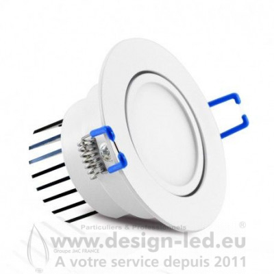 Downlight led orientable Ø67 3w 4000k vision-el 76301 9,30 €