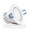 Downlight led orientable Ø70 5w 3000k vision-el 76353 11,10 €