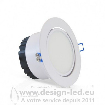 Downlight led orientable Ø70 12w 4000k vision-el 76371 23,00 €