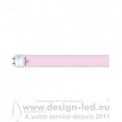 Tube LED T8 Rose Alimentaire 18W 1200 mm