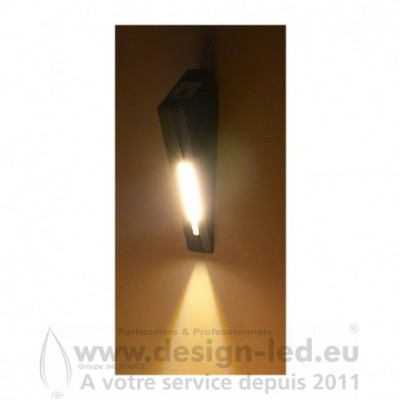 Applique Murale LED Gris Anthracite 3W 3000K 240LM