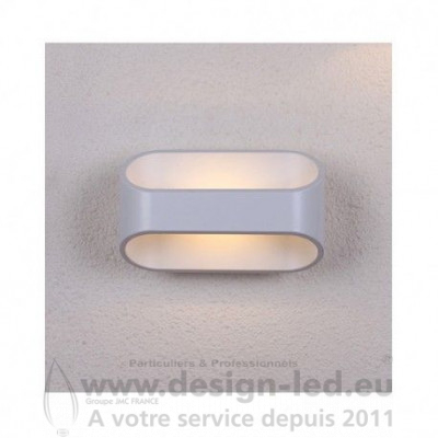 APPLIQUE MURALE LED BLANC 6W 3000K 440LM