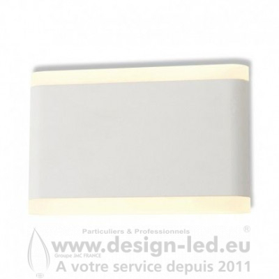APPLIQUE MURALE LED 10 W 175 MM 3000K BLANC IP54 770LM