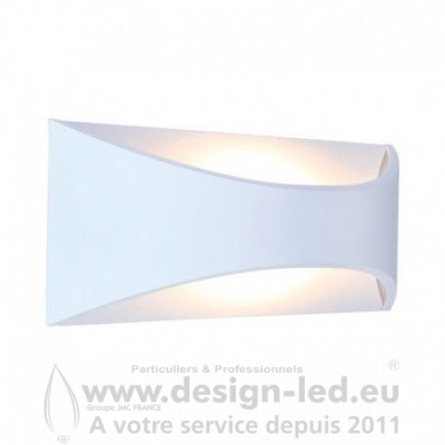 APPLIQUE MURALE LED 6W 3000K BLANC IP65 330LM VISION EL 7043 55,60 €