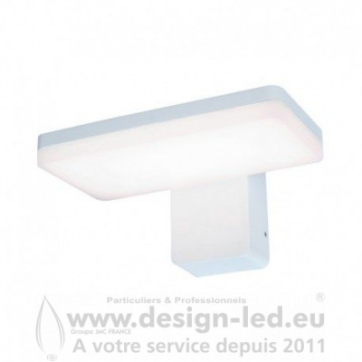 APPLIQUE MURALE BOULE LED 12W 3000K BLANC IP65 1100LM
