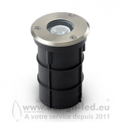 SPOT ENCASTRABLE LED Ø62 3W ROND 3000K IP67 180LM