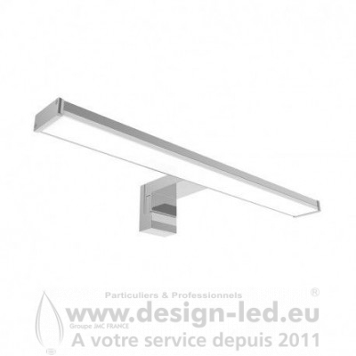 APPLIQUE LED MIROIR 40CM 8W 3000K 650LM