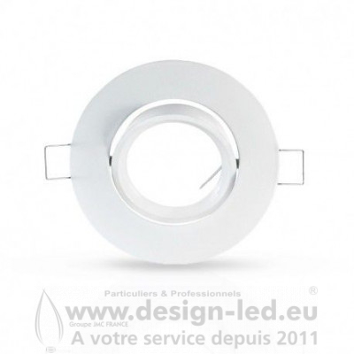 SUPPORT PLAFOND ROND BLANC VISION EL 7704 3,90 €