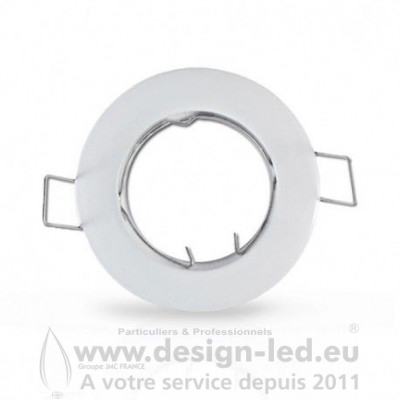 SUPPORT PLAFOND ROND BLANC VISION EL 7710 3,10 €