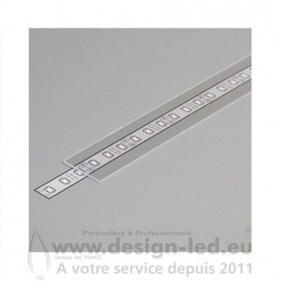 DIFFUSEUR TRANSPARENT 2M POUR PROFILE LED 19.2MM