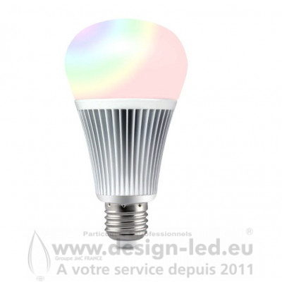 Ampoule LED RGB CCT 9 watts  E27 RVB MI LIGHT - MIBOXER FUT012