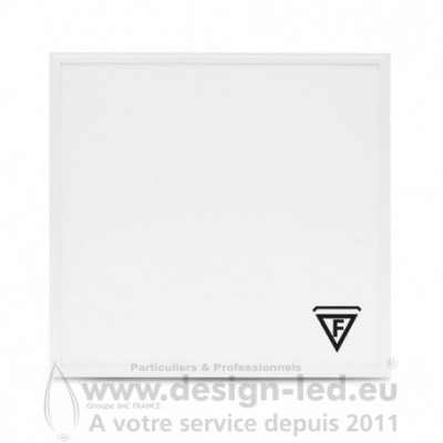 Dalle LED Recouvrable 595X595 36W 3000K pack x2 VISION EL 77724 62,70€