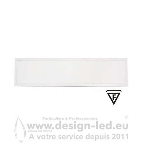 Dalle LED recouvrable 1195X295 36W 4000K pack x2 VISION-EL 77728