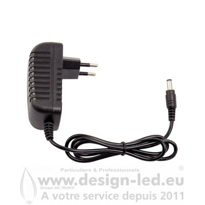 Adaptateur de Courant LED 12V 24W 2A DESIGN-LED P00166
