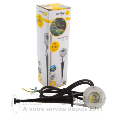 Spot LED à planter 4W IP65 GRIBLO Kanlux 51,20 € -50%