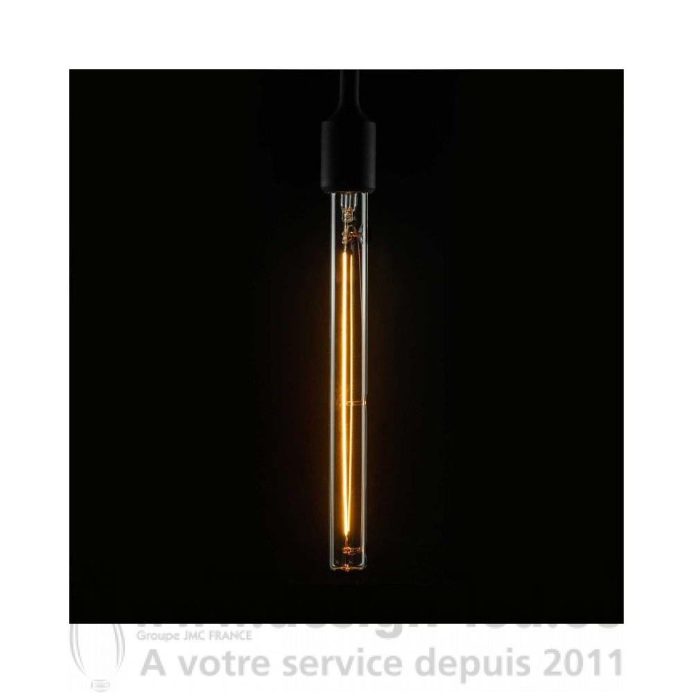 Ampoule LED tubulaire T30 transparente E27 H300mm 8W dimmable 2200K SEG50197 45,00 €