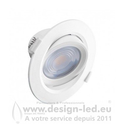 Downlight led orientable Ø120 10w 3000k vision-el 763619 Vision El - 7.916667