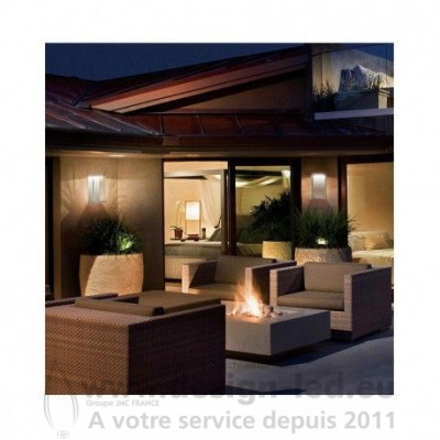 APPLIQUE MURALE LED 9 WATT 3000K BLANC IP65 550LM VISION EL 7044 77,90 €