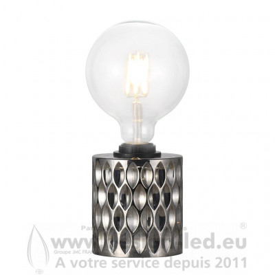 Lampe de table Hollywood Smoked (Fumée) E27 - Nordlux - 46645047 NORDLUX - 21.666667