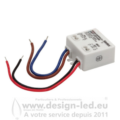 Alimentation CV DRIFT LED 12VDC 0-6W Kanlux 18040