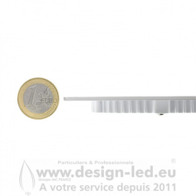 Dalle LED Ronde Extra-Plate 3W blanc 4000k Ø 85 mm Design-led CO2081 4,90 €