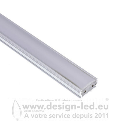 Profilé avec Ruban LED Aretha 1000mm 15W 3000K DESIGN-LED 2042