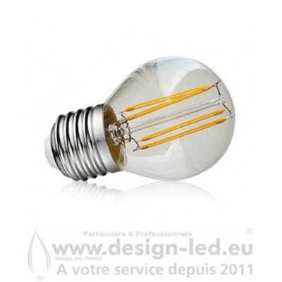 E27 G45 LED Filament Golden 4W 2700K 440LM