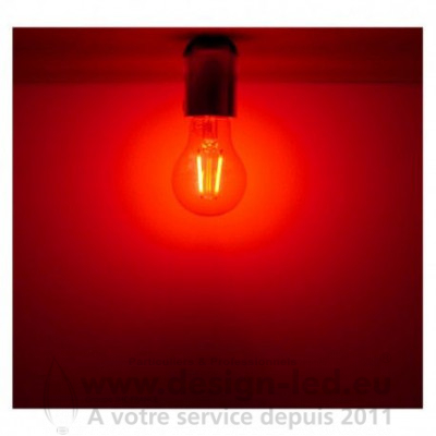 E27 LED Filament 2W Rouge