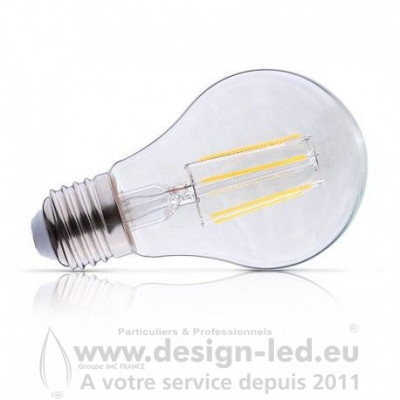 E27 LED Bulb Filament 8W Dimmable 2700K 990LM