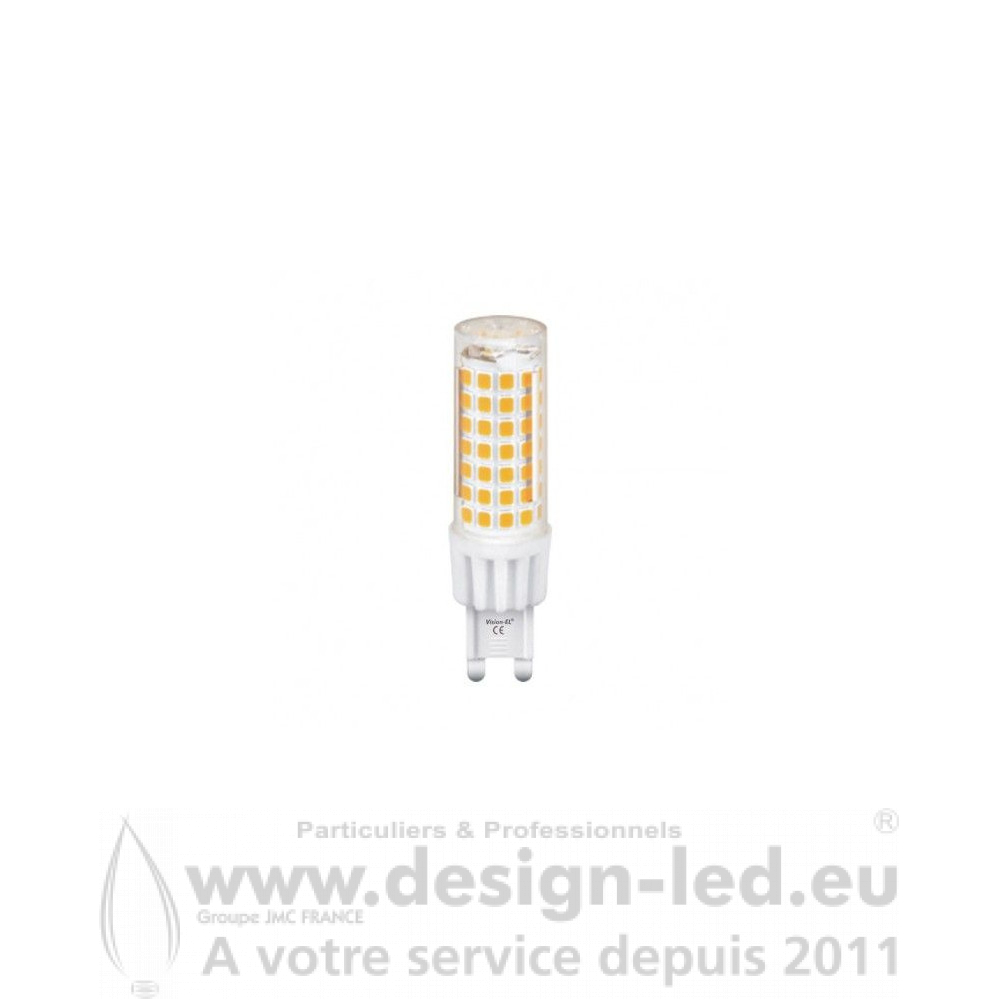 G9 LED 5W dimmable 3000K 230V 495LM