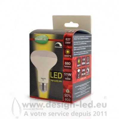 E27 LED Spot R80 11W 3000K 880LM DIMMABLE